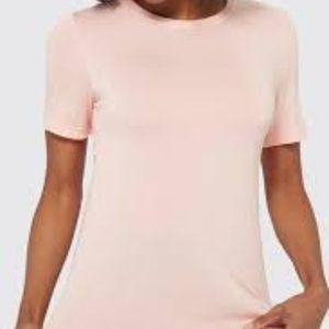 Cowl Short Sleeve Workout Shirt